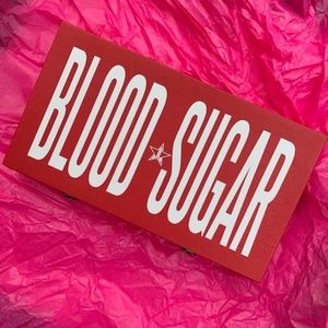 Brand New Jeffree Star Blood Sugar palette